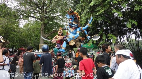 Ogoh Ogoh Banjar Kaja Desa Panjer